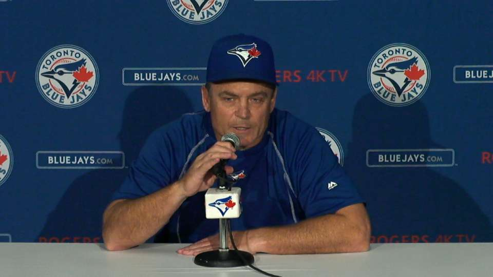 Gibbons on loss to White Sox