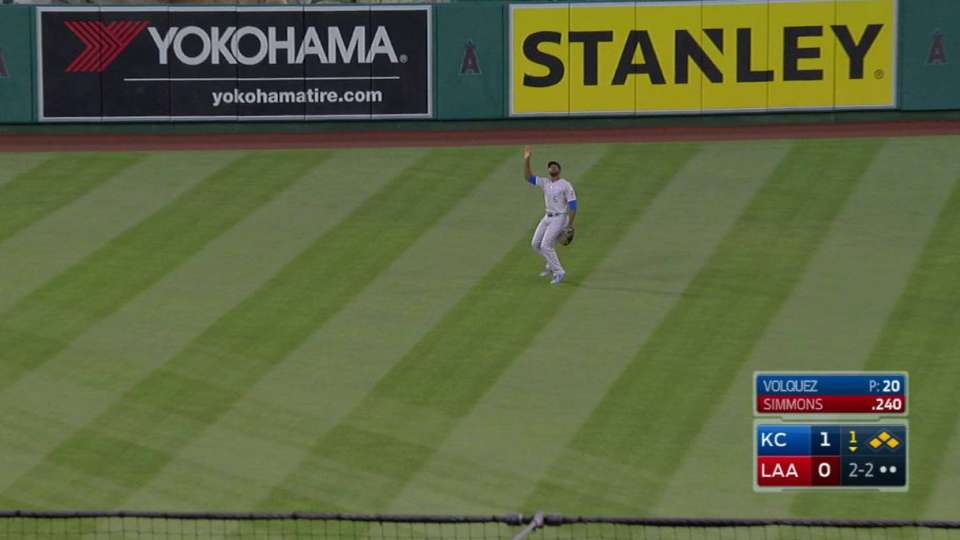 Volquez escapes the bases loaded