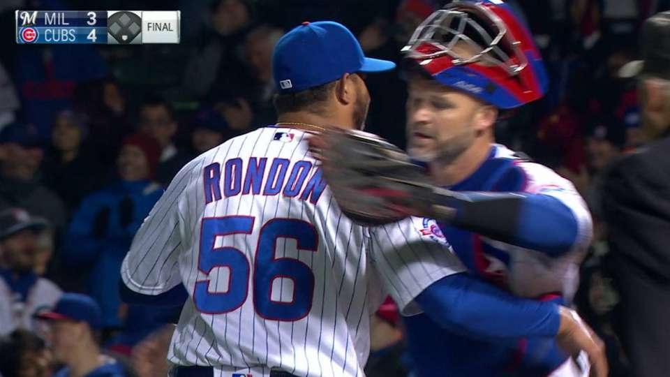 Rondon retires Hill to end game