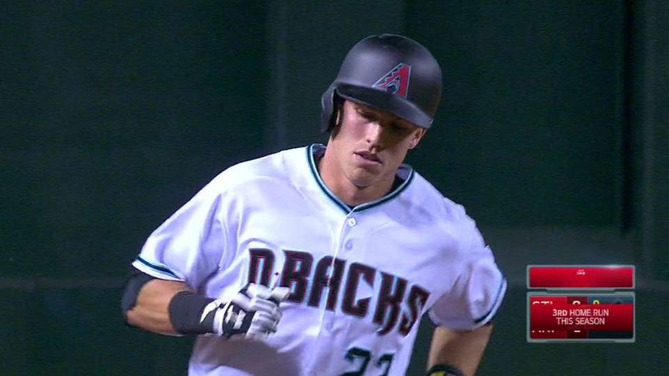 Lamb homers to right-center