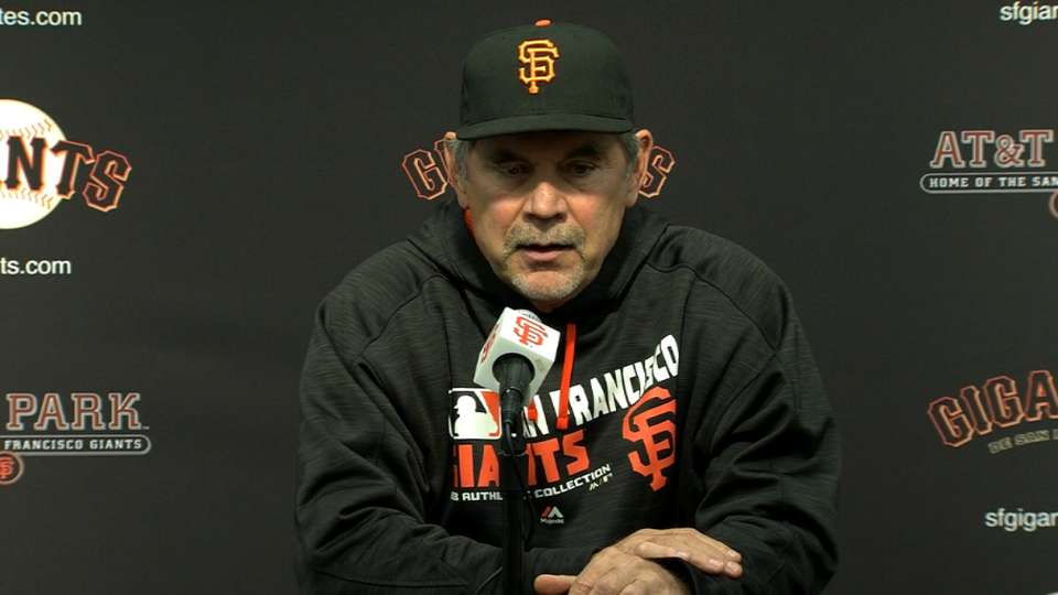 Bochy on 1-0 win against Padres