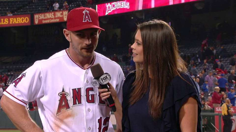 Giavotella on the Angels' win
