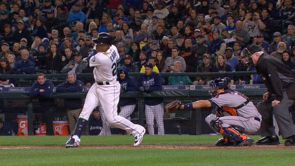 Cano drives in six runs