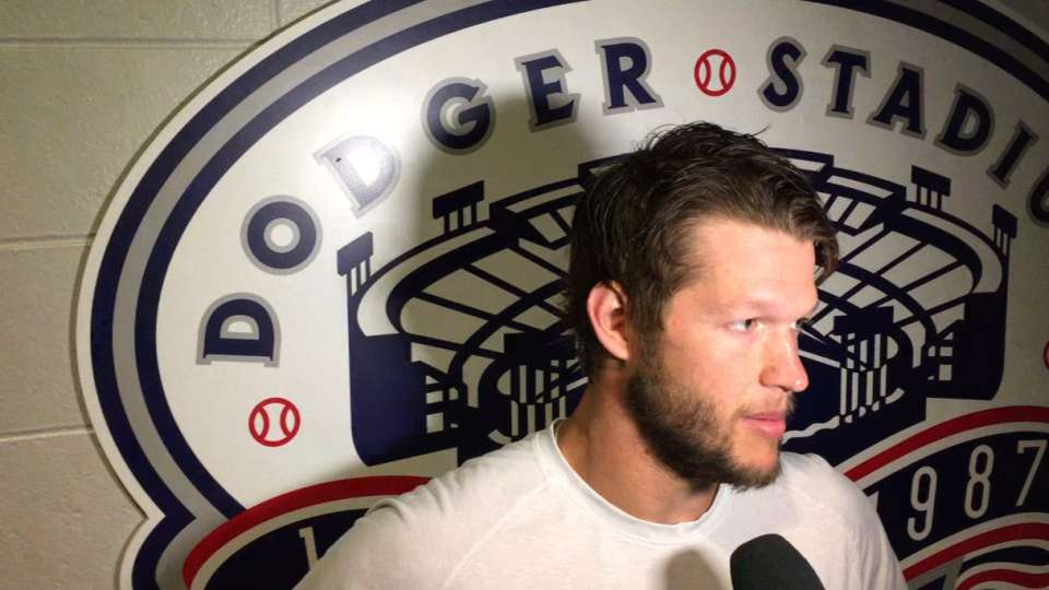 Kershaw on loss to Dodgers