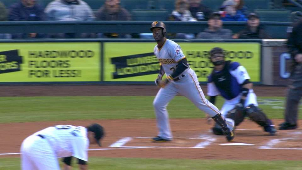 Pirates hit five homers in win