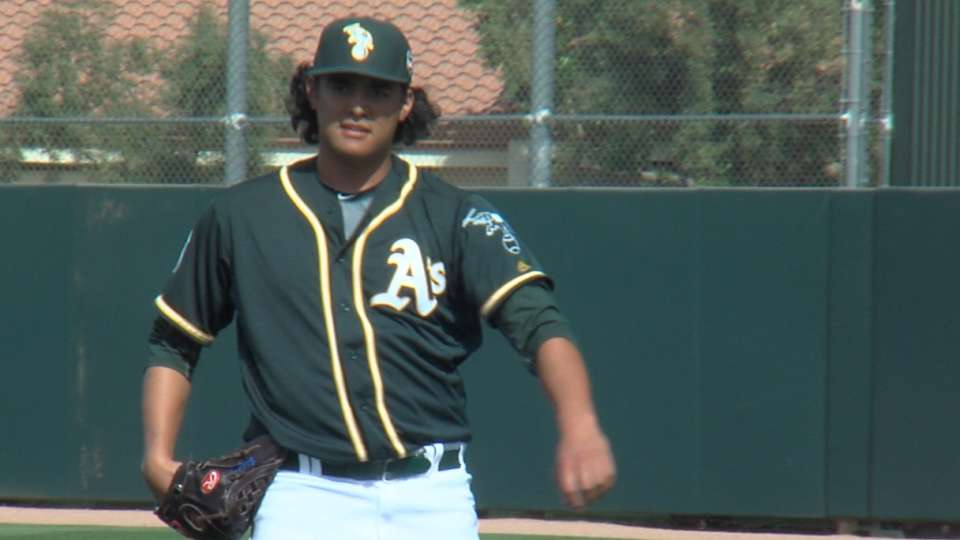 Zinkie on Manaea being called up