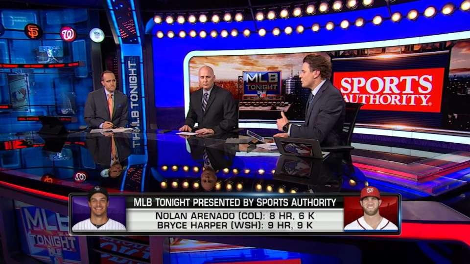 MLB Tonight: Harper and Arenado