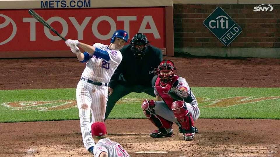 Walker's solo home run