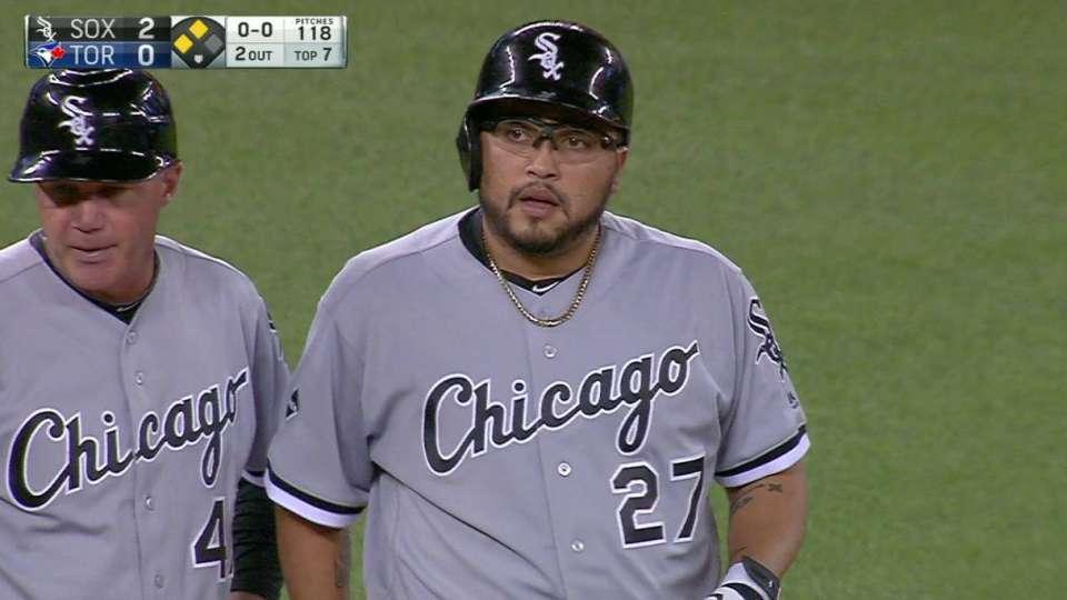 Navarro's two-run triple