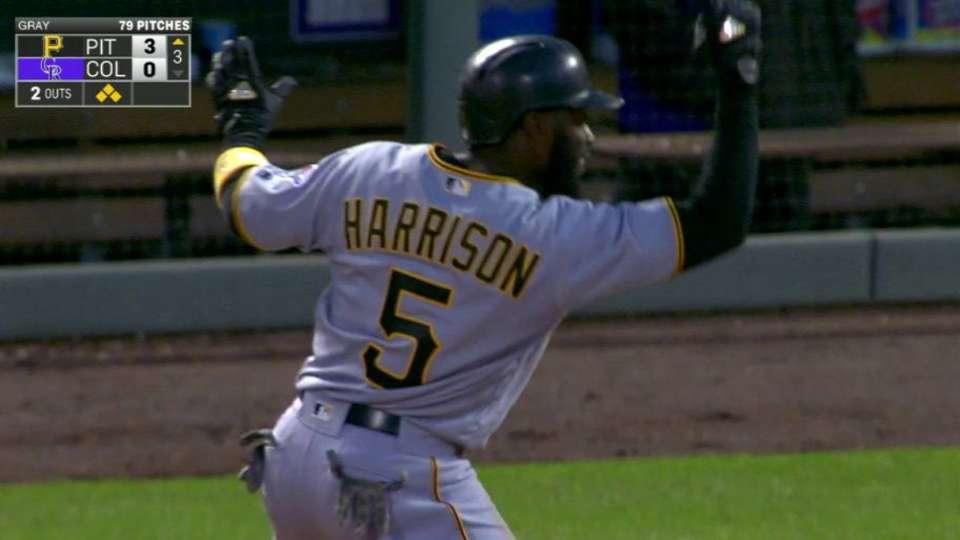 Harrison's RBI single