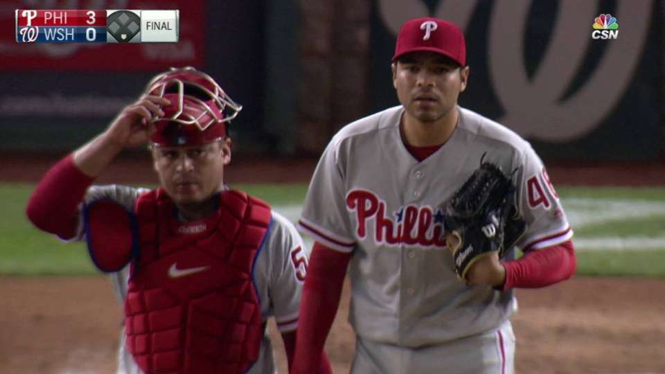 Gomez notches his sixth save