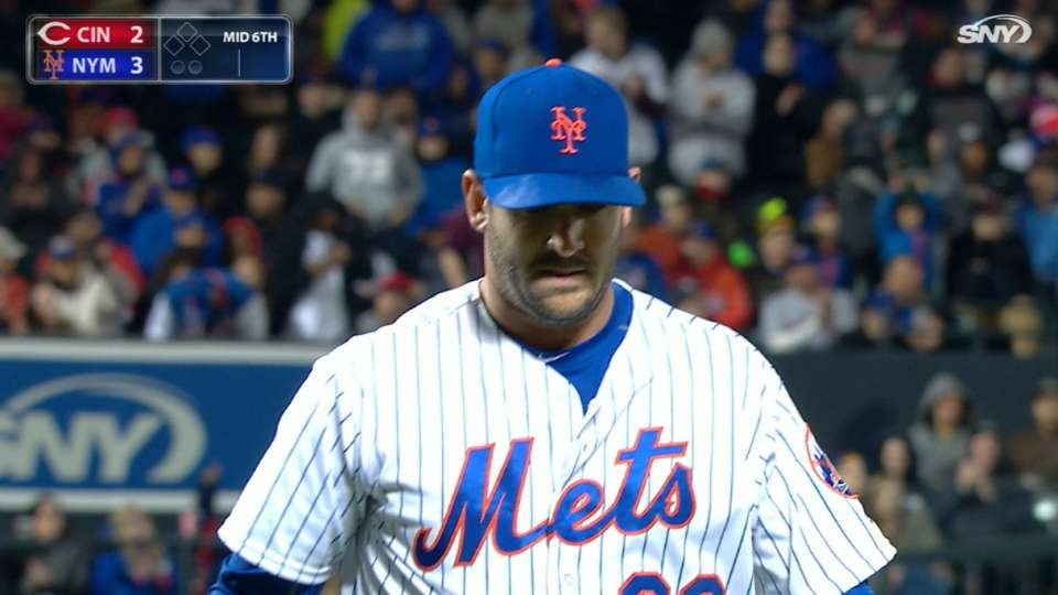 Harvey fans seven in Mets' win