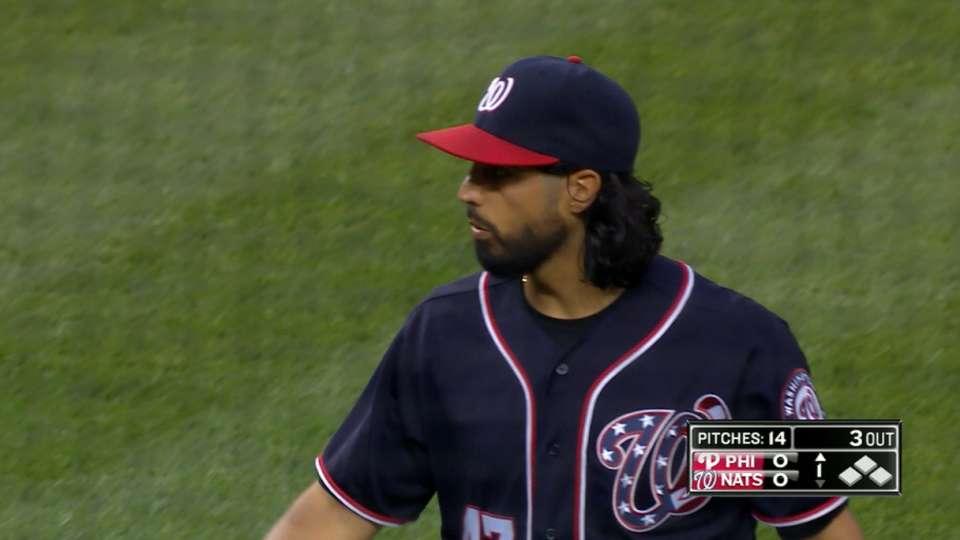 Gonzalez's 6 1/3 strong innings
