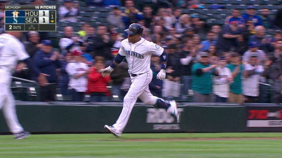 Cano's solo home run