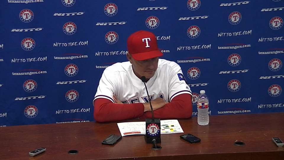 Banister on Rangers' victory