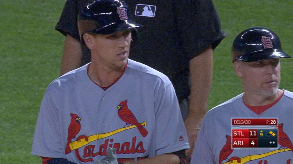 Piscotty's four-hit game