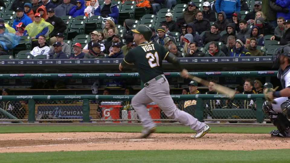 Vogt's solo home run