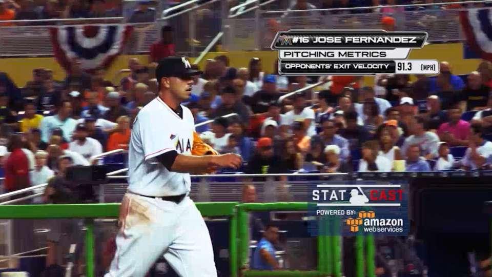 MLB Now: Statcast on Fernandez