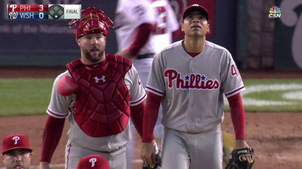 Phillies turn two to secure win