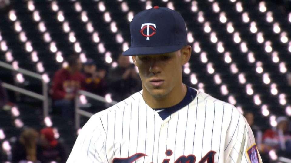 Berrios' Major League debut