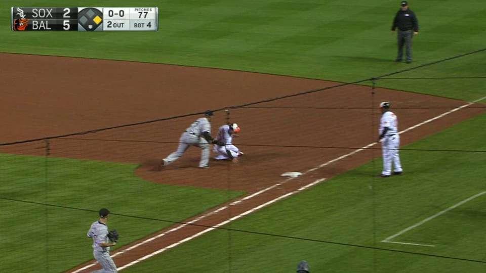 Eaton turns double play