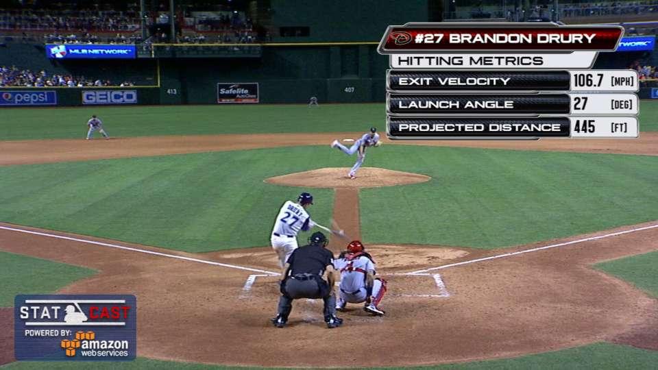 Statcast: Drury's laser home run