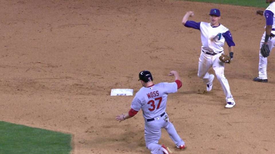 Ziegler induces a double play