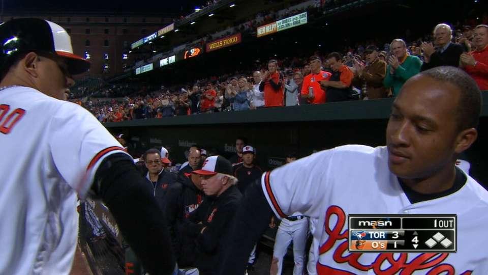 O's love Machado's home run