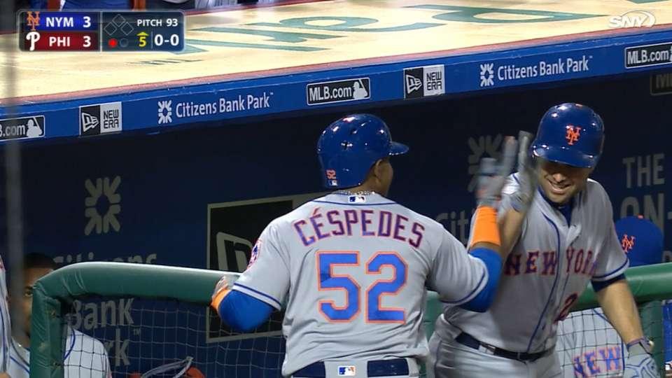 Mets enjoy Cespedes' home run