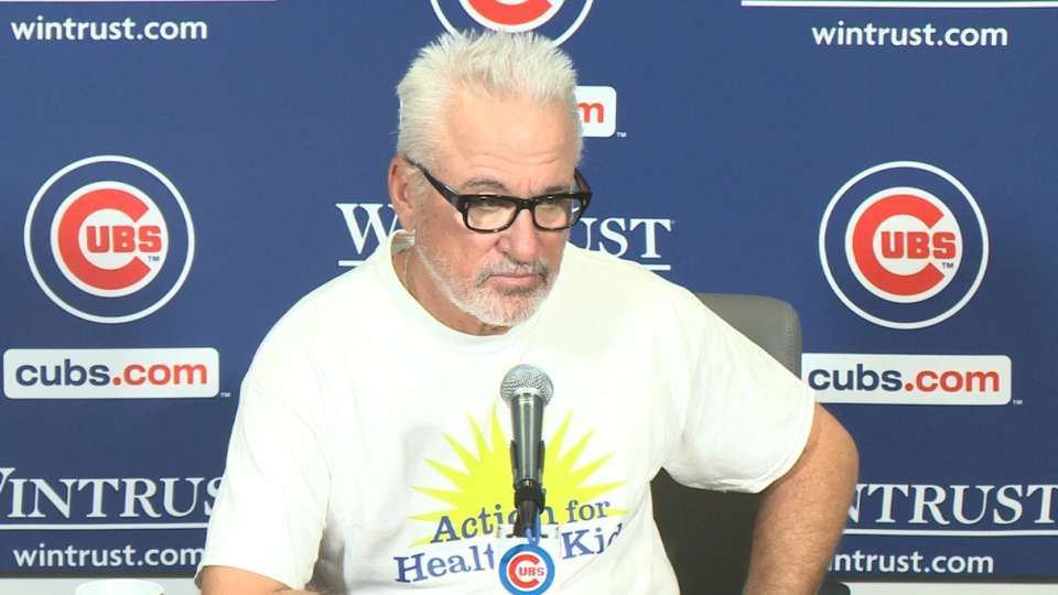 Maddon on Cubs' 6-1 win