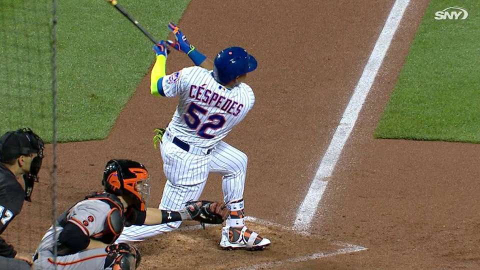 Cespedes' two-run single