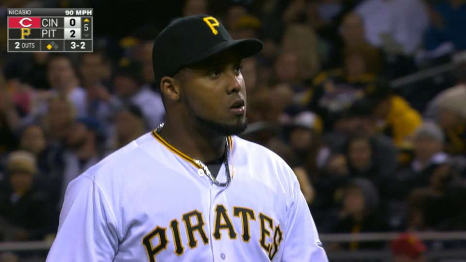Nicasio's scoreless outing