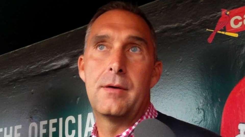 Mozeliak on Cardinals' injuries