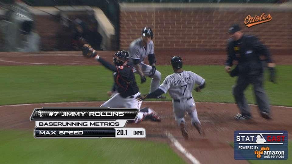 Statcast: Jones nails Rollins
