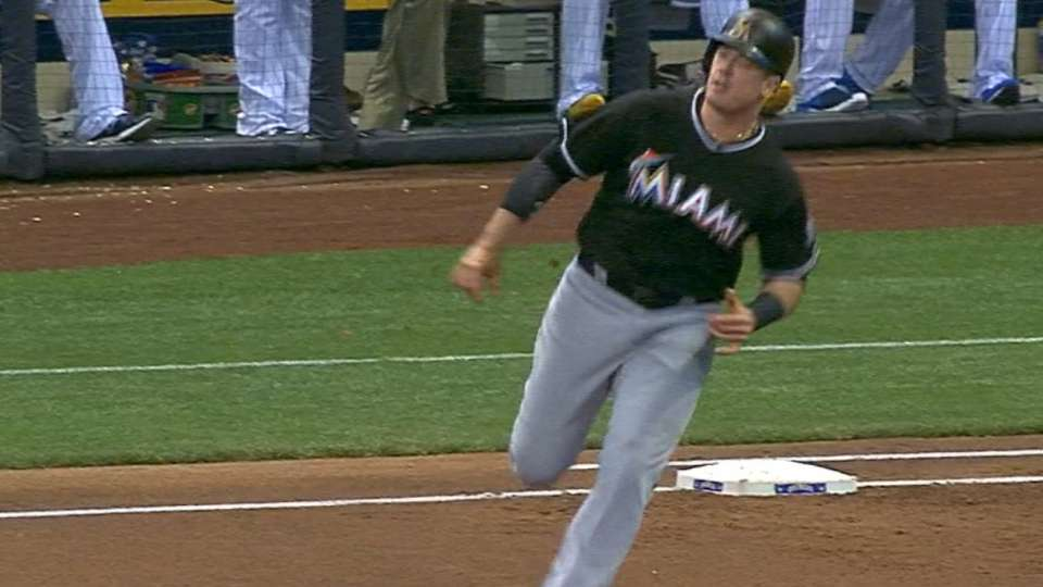 Bour's two-homer game