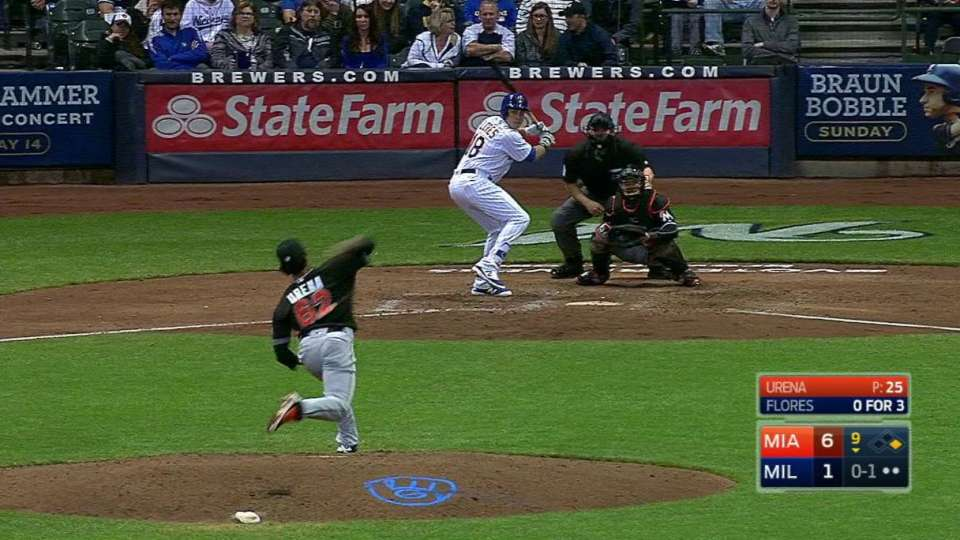 Flores' RBI double