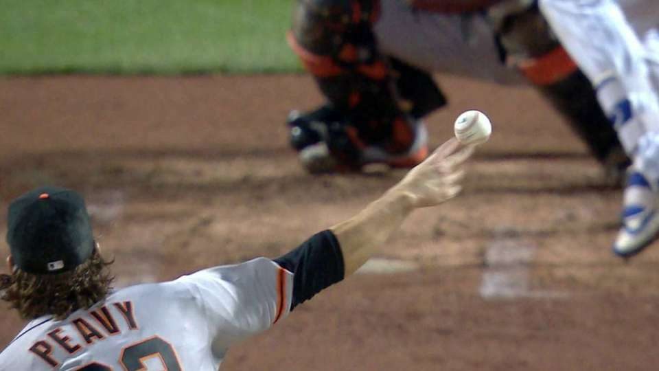 Peavy strikes out Plawecki