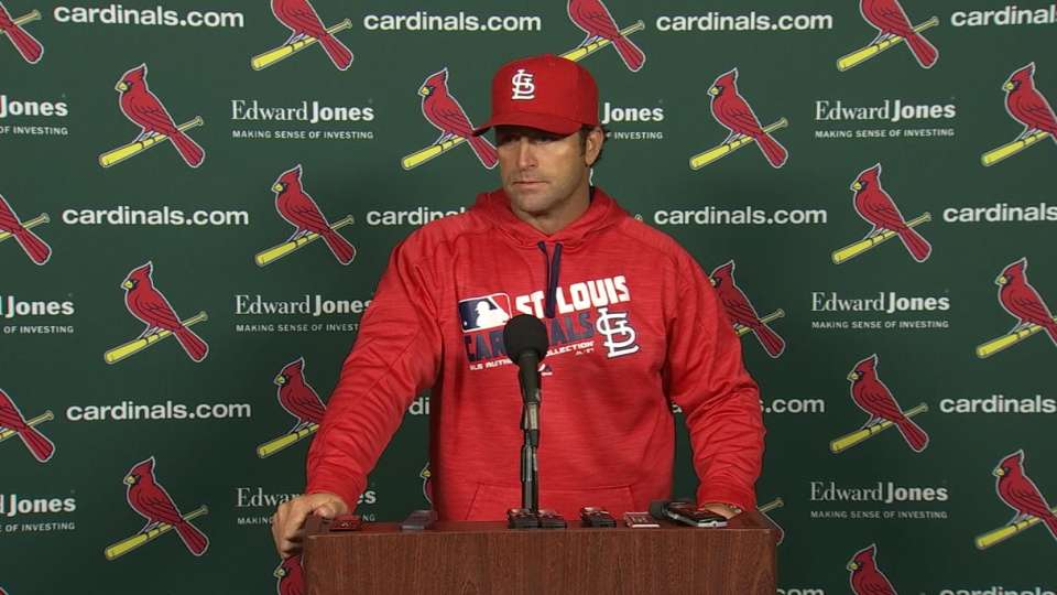Matheny on 5-4 loss to Nationals