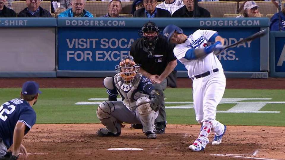 Grandal's solo shot in the 6th