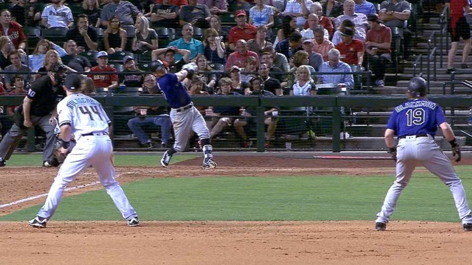 Rockies launch four home runs