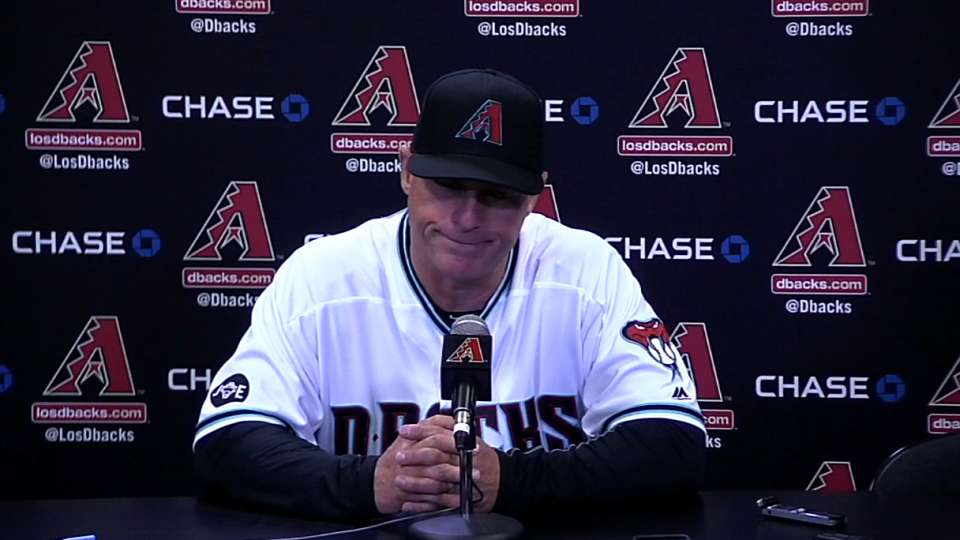 Hale on D-backs' 9-0 loss