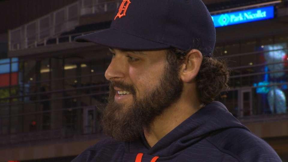 Fulmer discusses MLB debut