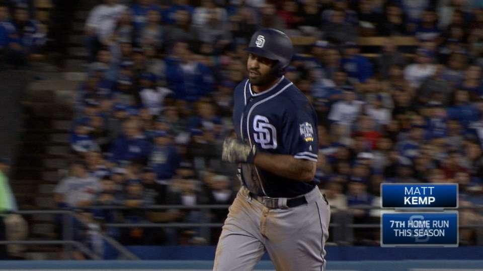 Kemp se luce contra viejo equipo