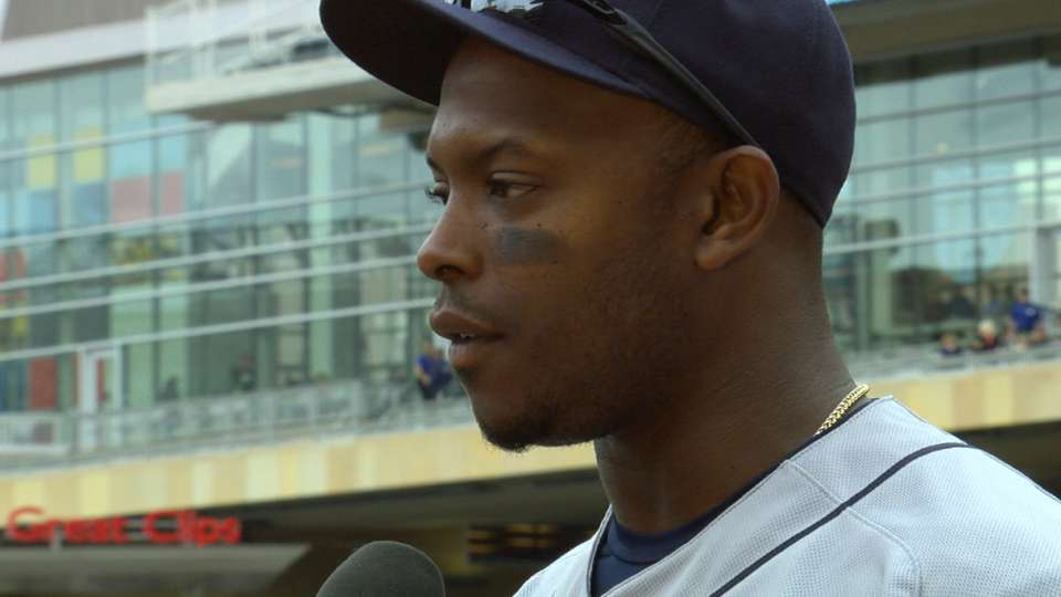 Upton discusses homer, 4-1 win
