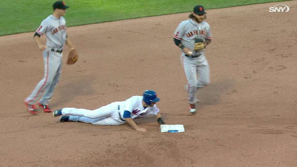 Giants challenge Walker's slide