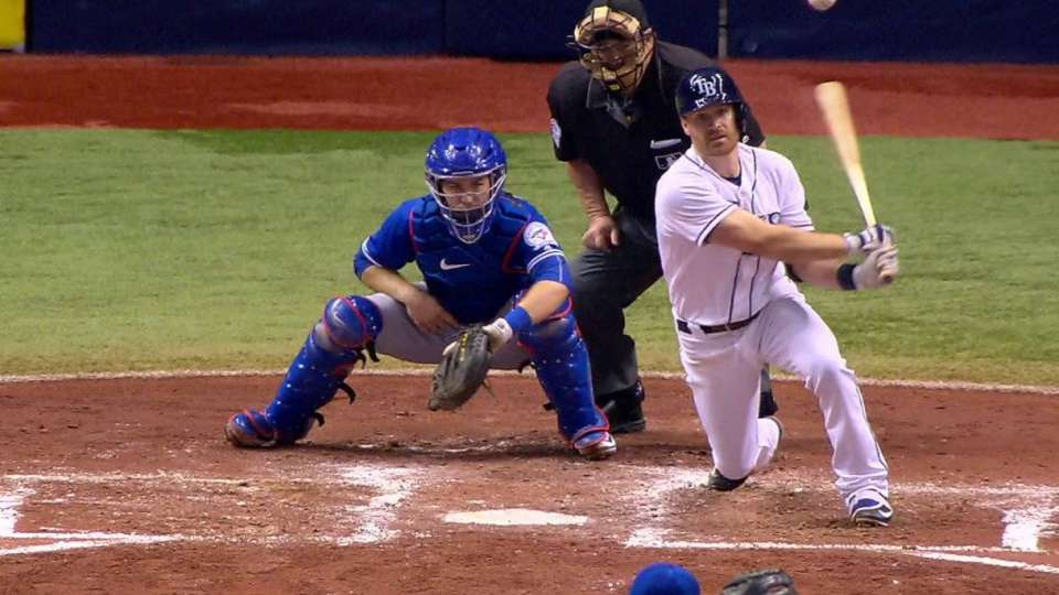 Forsythe puts Rays on the board