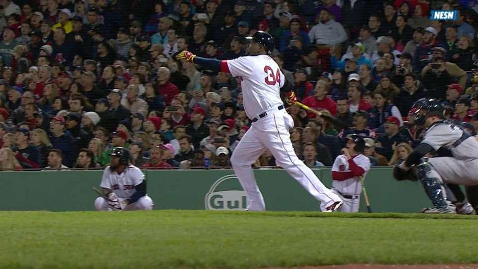 Big Papi's solo home run
