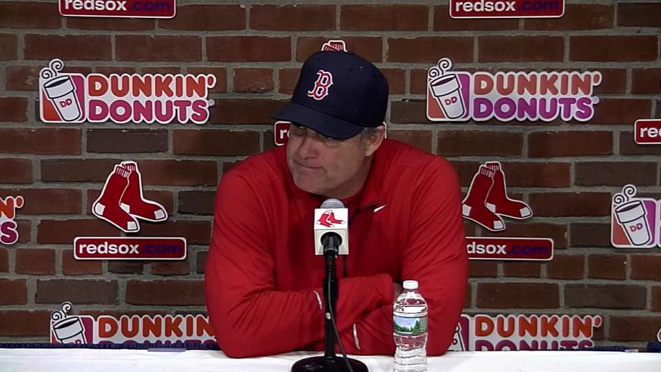 Farrell on 8-0 win over Yankees