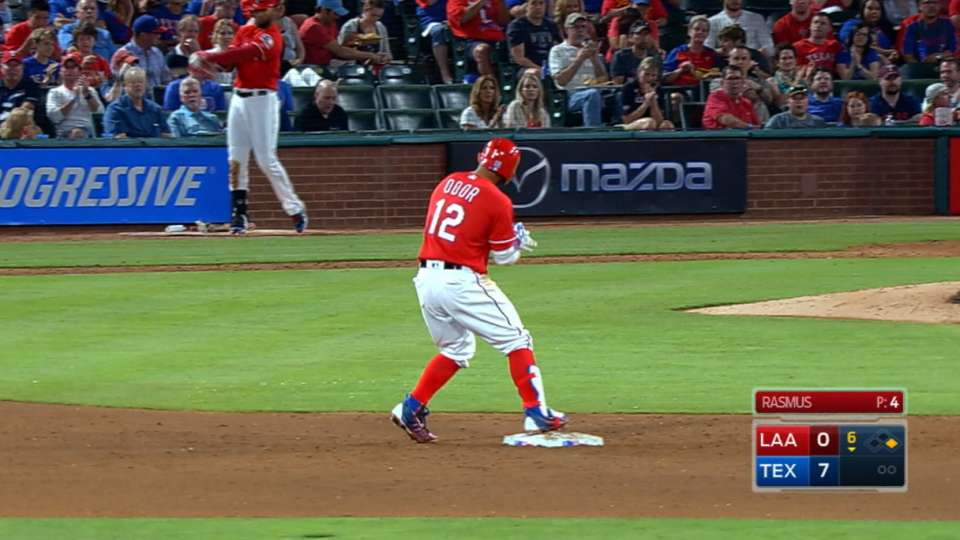 Odor's three doubles