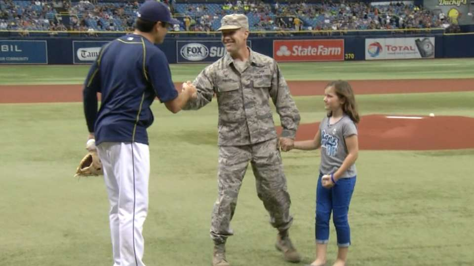 MacDill First Pitch May 1, 2016